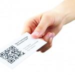 Ticket with QR code