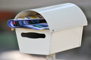 Mailbox with Catalog