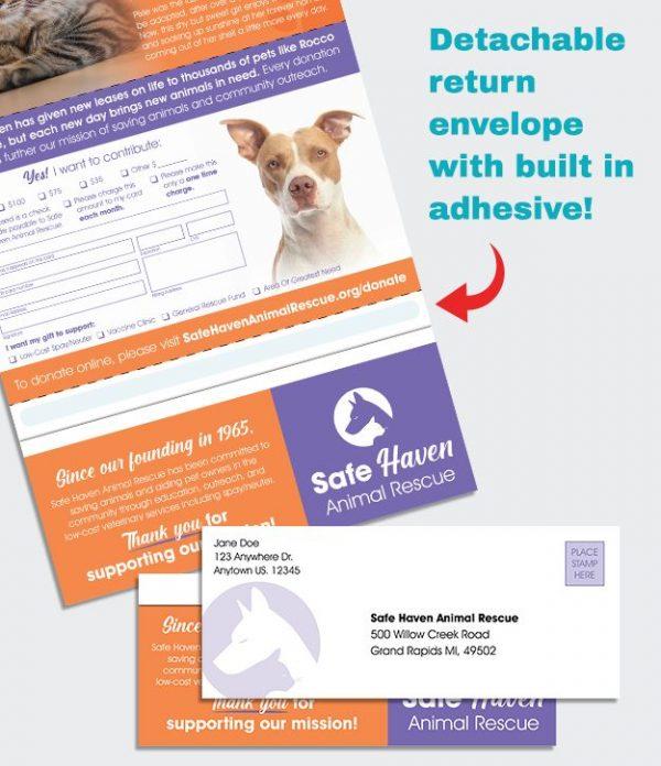 Fold N Go Return animal shelter donation request