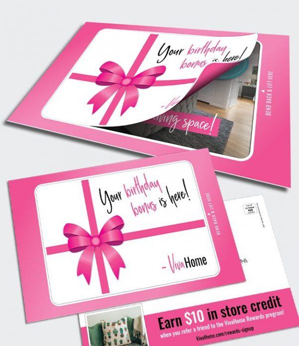 Fold N Go Reveal Card reward program promotion