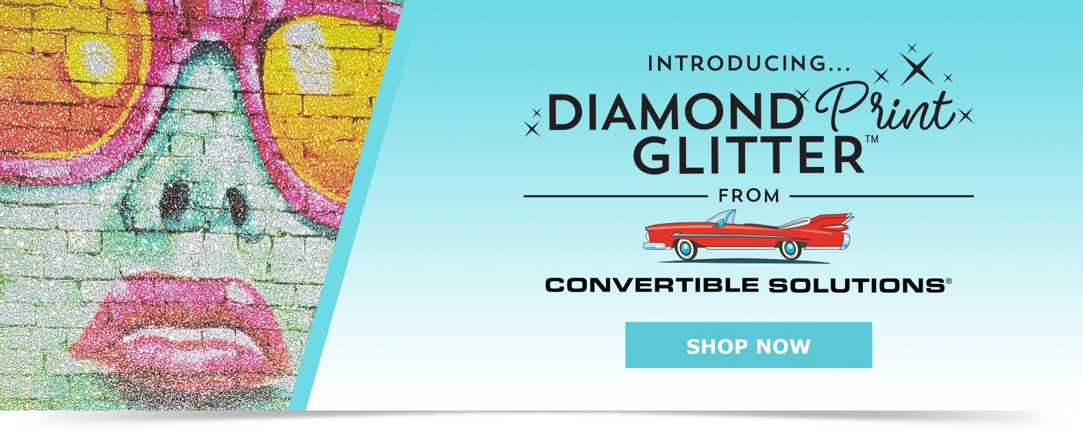 Diamond Print Glitter™