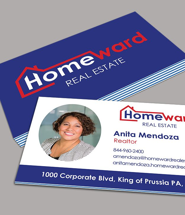 Business card samples with Pacific Breeze Inserts