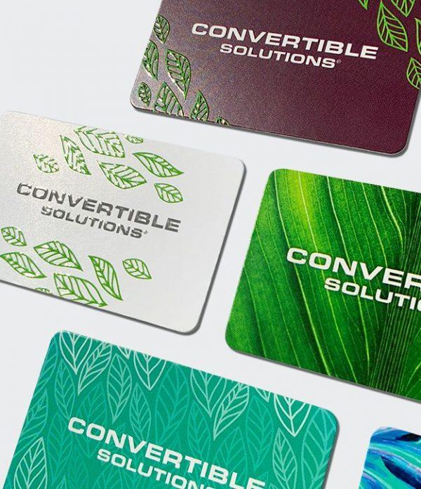 MultiLoft Elements Terra14 gift cards with spot uv varnish