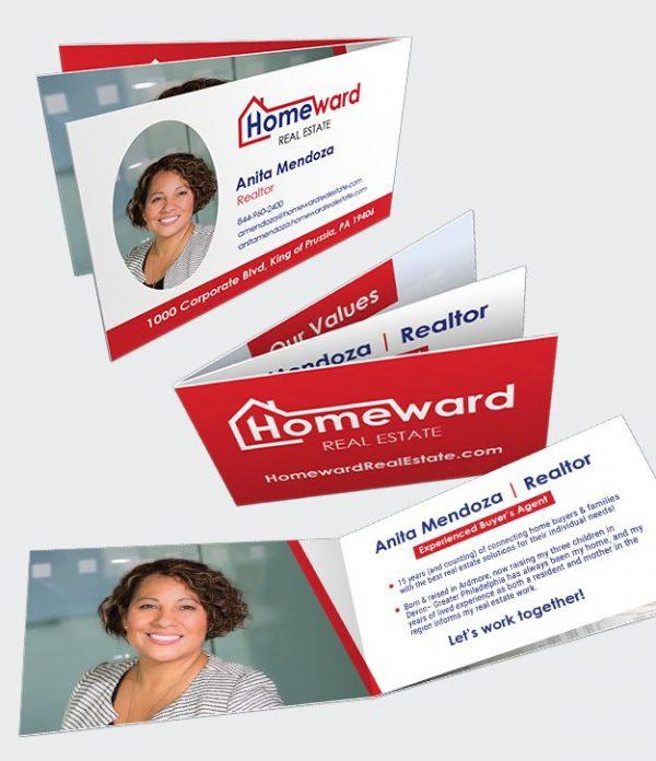 My Journey Card business card sample