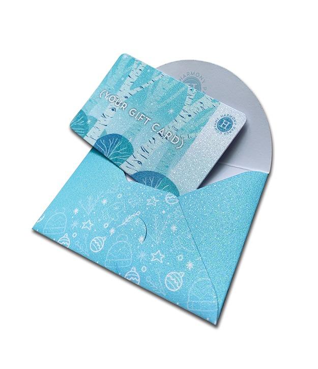 Diamond Print Glitter™ Gift Card Holder