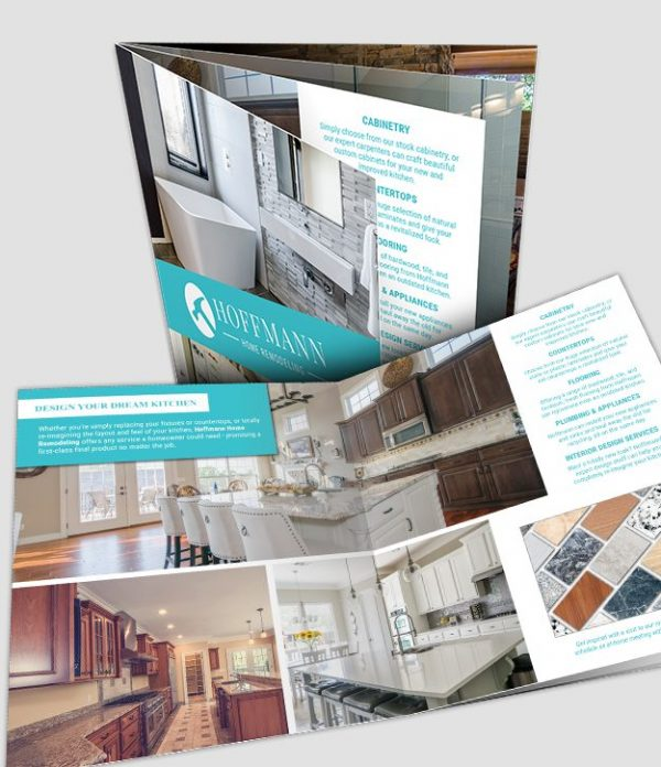 TRU-Flat booklet sample featuring interior remodeling services